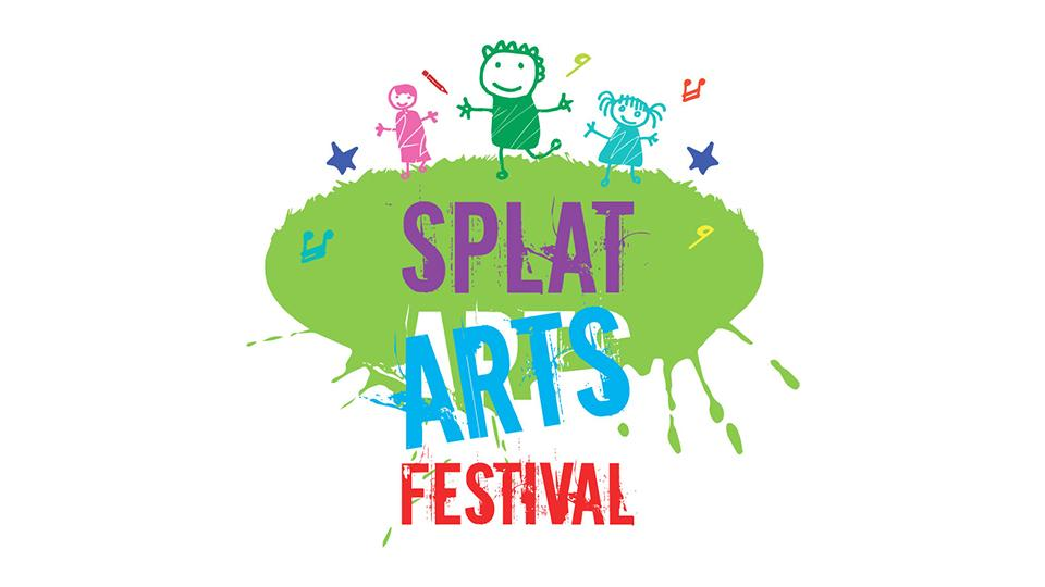Splat Arts Festival Web Site Design