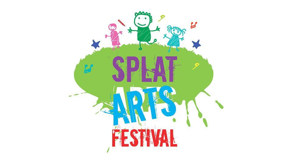 Splat Arts Festival Web Site Design
